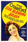 "Movie Posters:Drama, Our Blushing Brides (MGM, 1930). One Sheet (27"" X 41"") SoundStyle.. ..."
