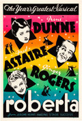 "Movie Posters:Musical, Roberta (RKO, 1935). Leader Press One Sheet (28"" X 41"").. ..."