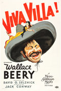 "Movie Posters:Western, Viva Villa! (MGM, 1934). One Sheet (27"" X 41""). Style D.. ..."
