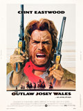 "Movie Posters:Western, The Outlaw Josey Wales (Warner Brothers, 1976). Poster (30"" X40"").. ..."