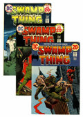 Bronze Age (1970-1979):Horror, Swamp Thing Group (DC, 1972-76) Condition: Average VF/NM....(Total: 17 Comic Books)