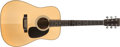 Musical Instruments:Acoustic Guitars, 1993 Martin HD-28 Natural Acoustic Guitar, #517765....