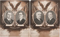 Political:Posters & Broadsides (1896-present), Harding & Coolidge and Cox & Roosevelt: Matched Pair ofJugate Posters.... (Total: 2 Items)