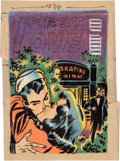 Original Comic Art:Miscellaneous, Warren Kremer First Love Illustrated CoverPreliminary/Concept Sketch Original Art (Harvey, 1953)....