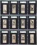 "Baseball Cards:Sets, 1924 V122 Willard's Chocolate ""Worlds Champions"" High End PartialSet (40/56) With Collins!..."