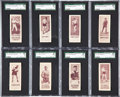 Boxing Cards:General, 1924 V137 Willard's Chocolate Boxers Complete Set (56)....