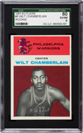 Basketball Cards:Singles (Pre-1970), 1961 Fleer Wilt Chamberlain #8 SGC 80 EX/NM 6....