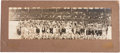 Baseball Collectibles:Photos, 1916 Chicago White Sox Team Panoramic Photograph....