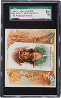 Non-Sport Cards:Singles (Pre-1950), 1888 N36 Allen & Ginter Agate Arrow Point SGC 84 NM 7 - PopOne, Highest! ...
