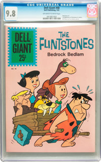 Dell Giants #48 The Flintstones (Dell, 1961) CGC NM/MT 9.8 Off-white to white pages