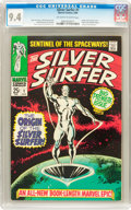 Silver Age (1956-1969):Superhero, The Silver Surfer #1 (Marvel, 1968) CGC NM 9.4 Off-white to white pages....