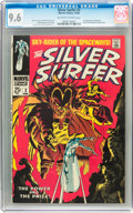 Silver Age (1956-1969):Superhero, The Silver Surfer #3 (Marvel, 1968) CGC NM+ 9.6 Off-white to whitepages....