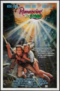 "Movie Posters:Adventure, Romancing the Stone (20th Century Fox, 1984). One Sheet (27"" X 41"")and Lobby Card Set of 8 (11"" X 14""). Adventure.. ... (Total: 9Items)"