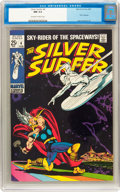 Silver Age (1956-1969):Superhero, The Silver Surfer #4 (Marvel, 1969) CGC NM 9.4 Off-white to whitepages....