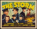 "Movie Posters:Adventure, The Storm (Universal, 1938). Half Sheet (22"" X 28""). Adventure....."