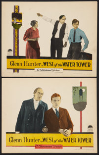 """West of the Water Tower (Paramount, 1923). Lobby Cards (2) (11"""" X 14""""). Drama. ... (Total: 2 Items)"""