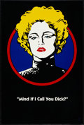 "Movie Posters:Action, Dick Tracy (Buena Vista, 1990). One Sheet (27"" X 40"") DS AdvanceMadonna Style. Action.. ..."