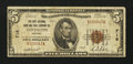 National Bank Notes:Kentucky, Covington, KY - $5 1929 Ty. 1 The First NB & TC Ch. # 718. ...