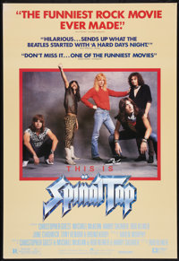 "This is Spinal Tap (Embassy, 1984). One Sheet (27"" X 39.5"") Review Style. Rock and Roll"