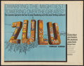 "Movie Posters:War, Zulu (Embassy, 1964). Half Sheet (22"" X 28""). War.. ..."