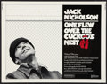 "Movie Posters:Academy Award Winners, One Flew Over the Cuckoo's Nest (United Artists, 1975). Half Sheet(22"" X 28""). Academy Award Winners.. ..."