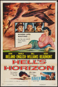 "Movie Posters:War, Hell's Horizon (Columbia, 1955). One Sheet (27"" X 41""). War.. ..."