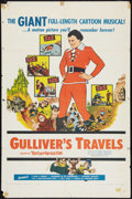 "Movie Posters:Animated, Gulliver's Travels (NTA, R-1957). One Sheet (27"" X 41""). Animated....."