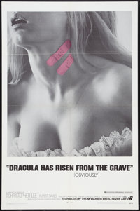"Dracula Has Risen From the Grave (Warner Brothers, 1969). One Sheet (27"" X 41""). Horror"