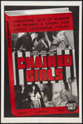 "Movie Posters:Sexploitation, Chained Girls (AFDC, 1965). One Sheet (27"" X 41""). Sexploitation....."