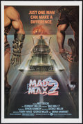 """Movie Posters:Science Fiction, Mad Max 2: The Road Warrior (Warner Brothers, 1982). First CampaignOne Sheet (27"""" X 41""""). Science Fiction.. ..."""