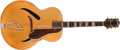Musical Instruments:Acoustic Guitars, Early 1940s Gretsch Synchromatic 160 Natural Acoustic Guitar (no serial number)....