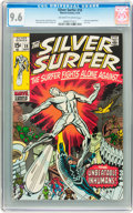 Bronze Age (1970-1979):Superhero, The Silver Surfer #18 (Marvel, 1970) CGC NM+ 9.6 Off-white to whitepages....