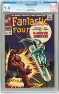 Silver Age (1956-1969):Superhero, Fantastic Four #55 (Marvel, 1966) CGC NM 9.4 White pages....