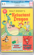 Golden Age (1938-1955):Cartoon Character, Four Color (Series One) #13 Reluctant Dragon (Dell, 1941) CGC VF+ 8.5 Off-white to white pages....