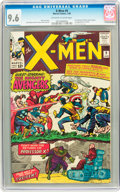 Silver Age (1956-1969):Superhero, X-Men #9 (Marvel, 1965) CGC NM+ 9.6 Off-white to white pages....