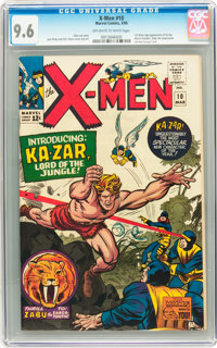 X-Men #10 (Marvel, 1965) CGC NM+ 9.6 Off-white to white pages