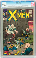 Silver Age (1956-1969):Superhero, X-Men #11 (Marvel, 1965) CGC NM+ 9.6 Off-white to white pages....