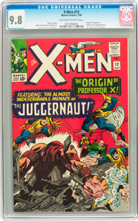 X-Men #12 (Marvel, 1965) CGC NM/MT 9.8 Off-white to white pages