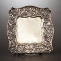 Silver & Vertu:Hollowware, AN AMERICAN SILVER TRAY . Whiting Manufacturing Company, New York, New York, circa 1900. Marks: (griffin with W), STERLI...