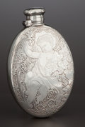 Silver Holloware, American:Flasks, AN AMERICAN SILVER FLASK . Tiffany & Co., New York, New York,circa 1870-1875. Marks: TIFFANY & CO., 3529 MAKERS 7900,STE...