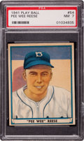 Baseball Cards:Singles (1940-1949), 1941 Play Ball Pee Wee Reese #54 PSA NM 7....