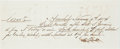 Autographs:Checks, 1874 Alexander Cartwright Handwritten & Signed Check/Promissory Note....
