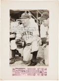 Autographs:Photos, 1951 Honus Wagner Signed Photograph....
