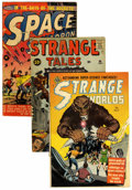 Golden Age (1938-1955):Horror, Comics - Assorted Golden and Silver Age Horror and Science FictionComics Group (Various, 1950s-'60s).... (Total: 7 Comic Books)