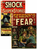 Golden Age (1938-1955):Horror, Haunt of Fear #9 and Shock SuspenStories #16 Group (EC, 1951-54)Condition: Average FN+.... (Total: 2 Comic Books)