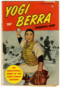 Golden Age (1938-1955):Non-Fiction, Yogi Berra Baseball Hero #nn (Fawcett, 1951) Condition: VG+....