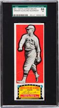 Baseball Cards:Singles (1950-1959), 1951 Topps Connie Mack Grover Alexander SGC 84 NM 7 - Pop One,Highest Known! ...