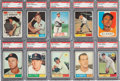 Baseball Cards:Lots, 1961 Topps baseball PSA Mint 9 Collection (21). ...