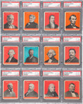 "Non-Sport Cards:Sets, 1932 R114 U.S. Caramel ""Presidents"" Complete Set (30) - #6 on thePSA Set Registry. ..."