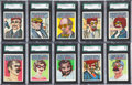"Non-Sport Cards:Sets, 1967 Topps ""Who Am I ?"" High Grade Complete Set (44). ..."